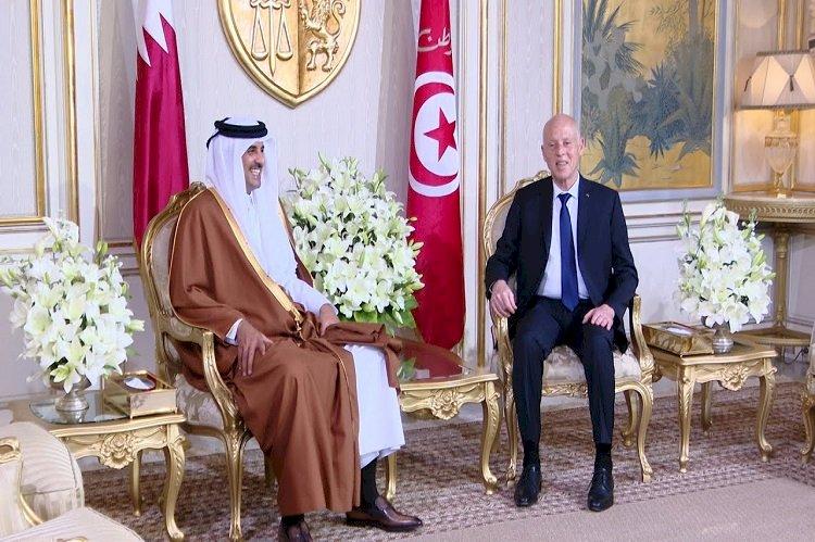 في  اتصاله مع الرئيس التونسي.. أمير قطر يطلب عدم محاكمة الغنوشي وترحيله للدوحة.. ما المقابل؟